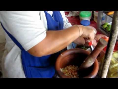 Yam Mamuang { Thai Green Mango Salad } Noon's