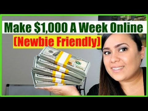 Easiest Way To Make Money Online As A Beginner 2018 - Earn $300 A Day Online Fast