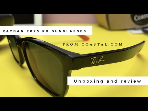 Ray Ban 7025 prescription sunglasses from coastal.com