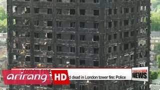 At least 58 missing, presumed dead in London tower fire