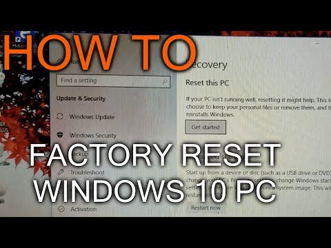 How to Fully Reset Windows 10