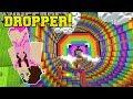 Minecraft: SUPER RAINBOW DROPPER!!! - KING OF THE DROPPER - Custom Map [2]