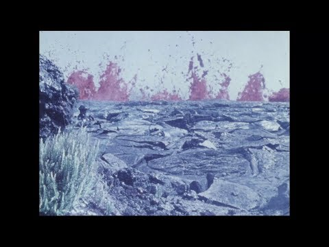 Pauahi Crater Eruption