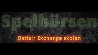 Betfair Exchange Skolan – Att Boka Ett Spel