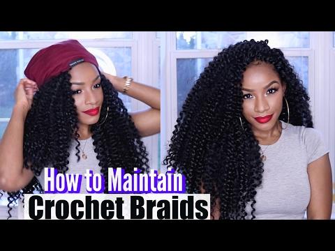 MY CROCHET BRAIDS ROUTINE | 4 Tips on How to Maintain Crochet Braids