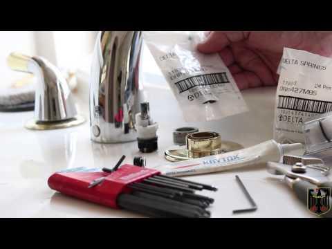 Delta/Peerless Tub Faucet Cartridge Installation