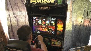 Fast and Furious to Tokyo Drift Arcade Cabinet Repair