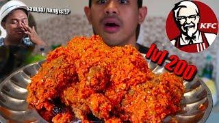NANGIS!! MUKBANG KFC BALADO PADANG LV 200 ALA TANBOY KUN FT BM BOIS