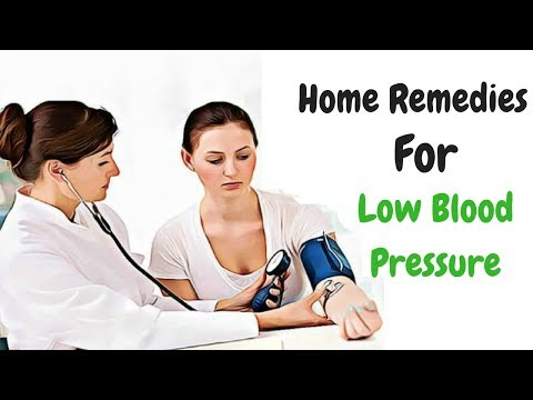 Instant Remedy For Low Blood Pressure | What To Do For Low Blood Pressure