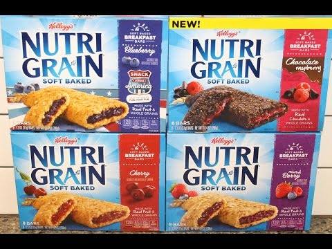 Nutri Grain Soft Baked: Blueberry, Chocolate Raspberry, Cherry & Mixed Berry Review