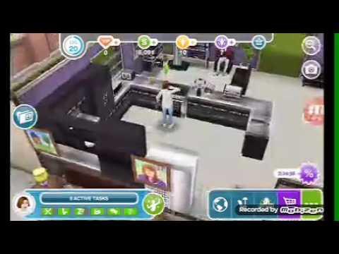 Build courage görevi!!!! Sims Free Play