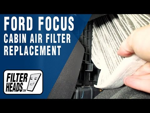 How to Replace Cabin Air Filter 2014 Ford Focus