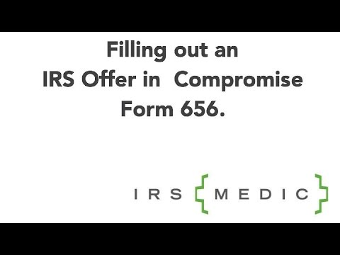 IRS Offer in Compromise Form 656