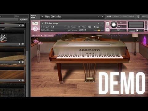 NI Alicia's Keys - Sympathetic Resonance Demo + Improv
