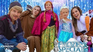FROZEN HALLOWEEN SPECIAL! ❄️  The Johnson Fam Halloween Special 2017