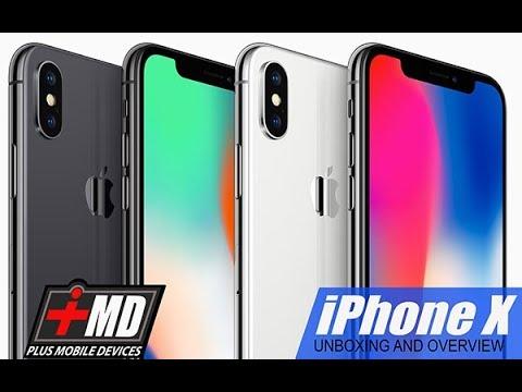iPhoneX UnBoxing & Overview