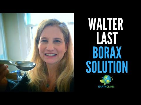 Borax for Heavy Metal Detox, Fluoride Poisoning, Inflammation, Joint Pain