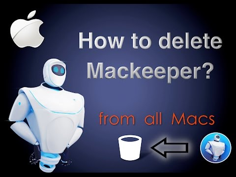 How to uninstall Mackeeper from a Macbook Pro \ every Mac