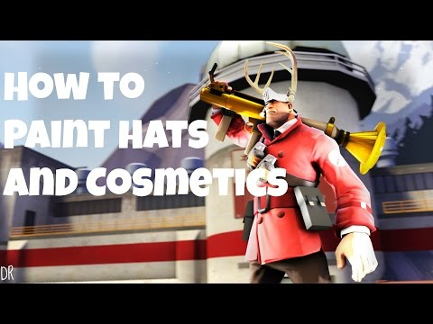 How to Paint Hats and Cosmetics in SFM
