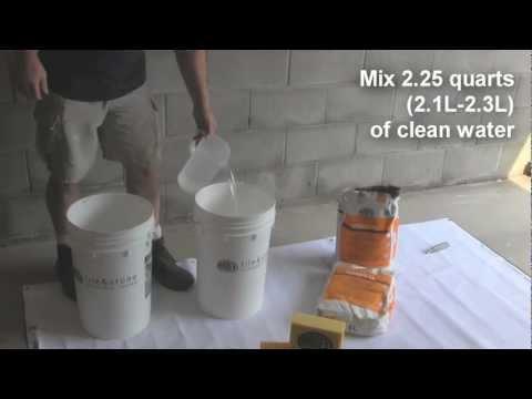 ARDEX FL™ Rapid Set, Flexible, Sanded Grout - Demonstration