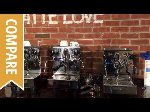 Compare: Expobar Brewtus IV Rotary and Vibration Pump Espresso Machines