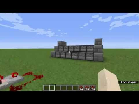1.10.2 - How To Make A Rapid Fire TNT Cannon In Minecraft Tutorial