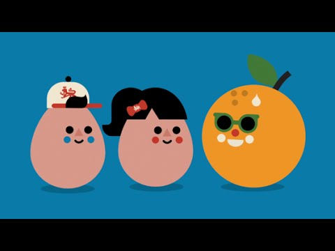 Healthy Egg Breakfast Animation for Kids