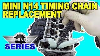 Peugeot 207 1 4 vti valvetronic timing chain replacement - PakVim