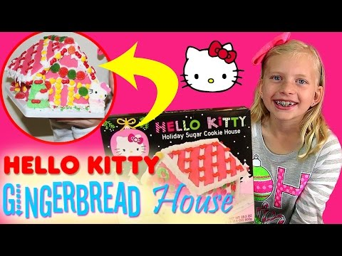 Hello Kitty Gingerbread House Christmas Fun