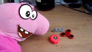 Реальная Жизнь Пиги #2 – Хайп Спиннера и как сделать спиннер из Плей До DIY