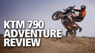 Download KTM 790 Adventure / Adventure R review | First launch report Video