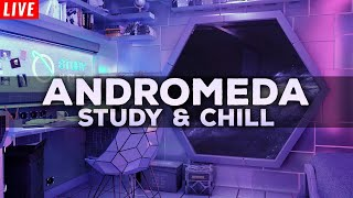 Andromeda Space Live Stream 🌌 Chill Lofi Hip Hop Study Music 🌌 Beats to Study & Homework Music