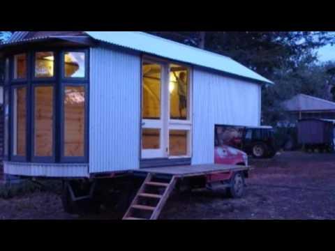 Tiny Houses Built Atop Classic Farm Trucks in Australia