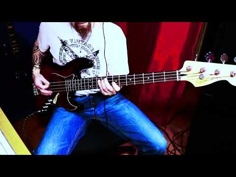 Type o Negative Anesthesia Bass Cover 2017