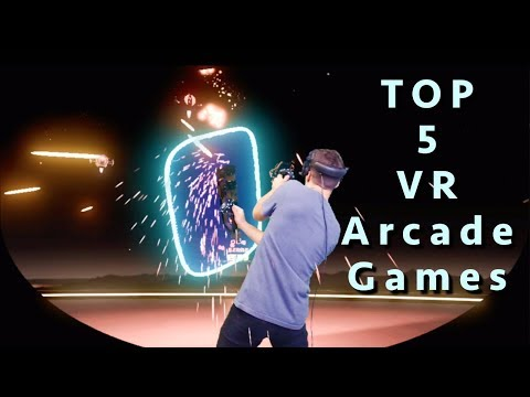 Top 5 VR Arcade Games 2019 | Steam VR