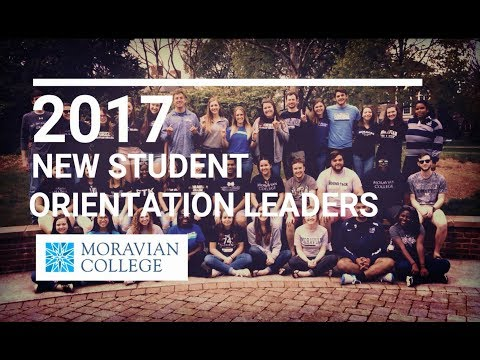 2017 Moravian College New Student Orientation Leaders