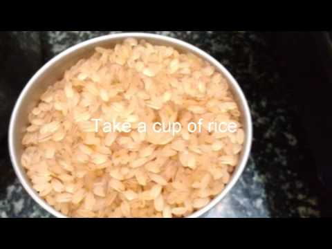 How to cook boiled rice in the cooker