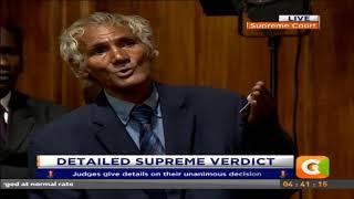 Drama as Maraga handles another petitioner.