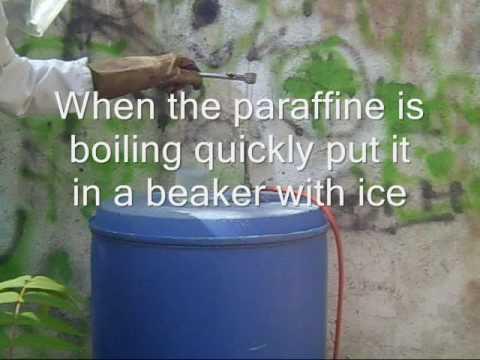 exploding paraffine