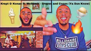 Krept & Konan - Crepes And Cones (Ya Dun Know) ft. MoStack [Music Video] | GRM Daily - REACTION!