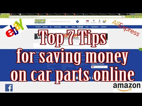 Top 7 Tips for buying car parts online