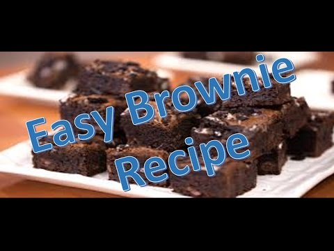How to make Easy and Simple Brownies -chocolate Brownies Recipe