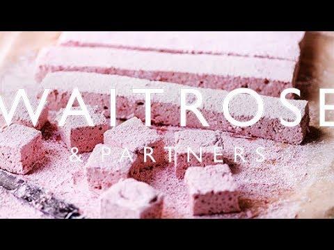 Raspberry and Rose Marshmallows | Waitrose