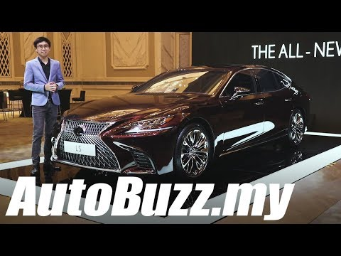 Lexus LS 500 now in Malaysia, Things You Need To Know - AutoBuzz.my