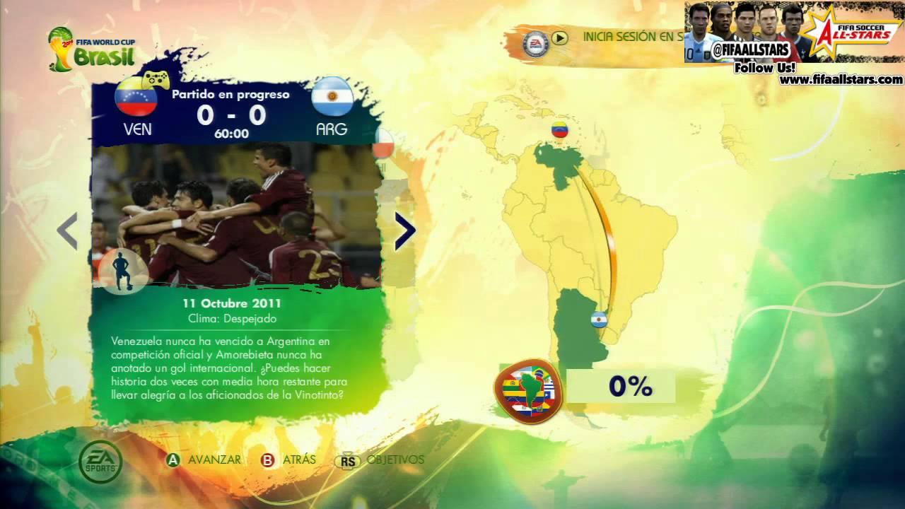 EA 2014 FIFA World Cup Story of Qualifying - FIFAALLSTARS.COM
