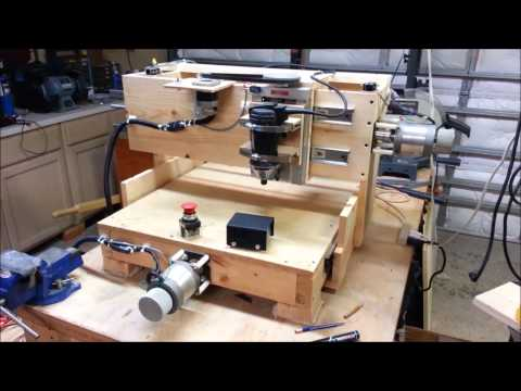 Wooden CNC Mill Overview