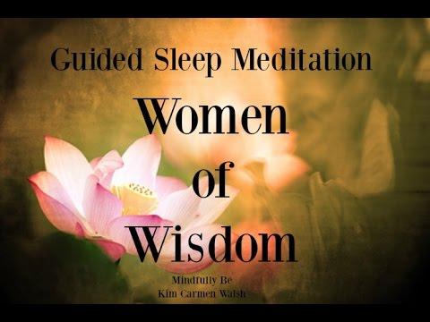 😴 Women of Wisdom ~ Menopause ~ Guided sleep meditation