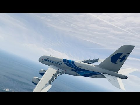 Malaysia Airlines 100th Airbus A380 800 0.1 - GTA V