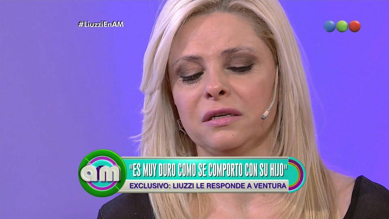 Fabiana Liuzzi se quiebra hablando de Ventura y de su hijo - AM