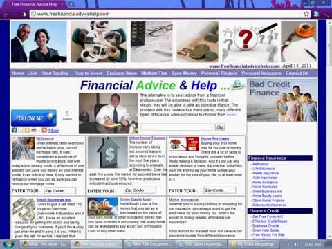 Financial Help For Seniors